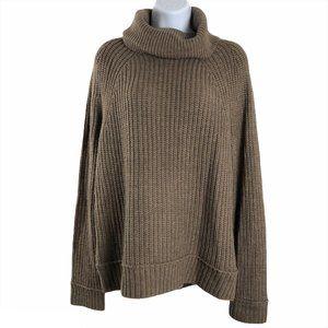 L.L. Bean Signature Sweater Cowl Turtleneck Acryli